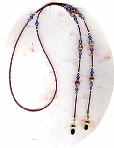 Beaded Eyeglass Chains, Beaded Eyeglass Holders/Leashes and Beaded ID Badge Lanyards by Bead Wizardry Designs Lanyard Necklace, Beaded Lanyards, Eyeglass Holder, Seed Bead Jewelry, Beaded Jewelry, Jewelry Necklaces, Beaded Necklace, Cordons, Eye Glasses