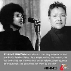 Elaine Brown #EveryMonthIsBlackHistoryMonth