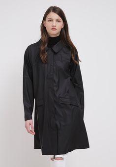Rains BELL - Waterproof jacket - black - Zalando.co.uk
