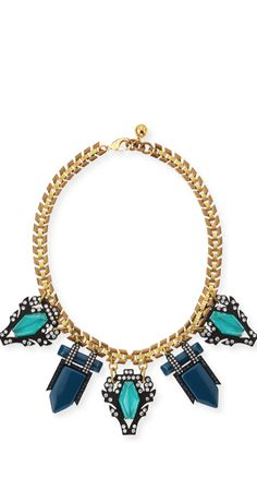 Fall 2014 Trend...Statement Necklaces via LookandlovewithLolo