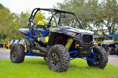 New 2017 Polaris RZR XP 1000 EPS Velocity Blue ATVs For Sale in Florida. 2017 Polaris RZR XP 1000 EPS Velocity Blue, NEW! Special Edition with Polaris Ride Command! 2017 Polaris® RZR XP® 1000 EPS Velocity Blue A world of connections at your fingertips with the revolutionary RIDE COMMAND technology. Features may include: POWER FEATURES 110 HP PROSTAR® H.O. ENGINE Designed specifically for extreme performance, the Polaris ProStar® 1000 H.O. engine features 110 horses of High Output power and…