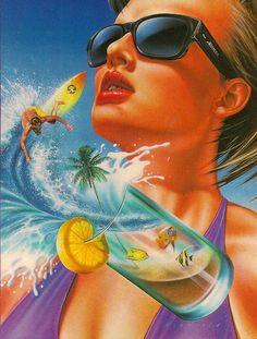 The Astonishingly Bizarre Art Of The 1980s...wow