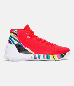 Men's UA Curry 3 Basketball Shoes, CHINESE NEW YEAR, zoomed image