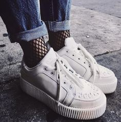 TUK Casbah creeper WHITE