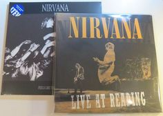 Online veilinghuis Catawiki: Nirvana - Great lot of 2x 2LP: Live At Reading & Feels Like The First Time (Limited BLUE vinyl)