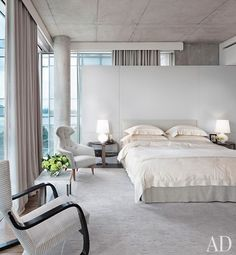 White Bedrooms Done Right  : Architectural Digest