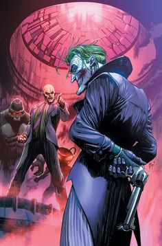 Joker by Guillem March DC Comics Comic Book Artwork Joker Comic, Joker Batman, Superman, Comic Book Characters, Comic Character, Comic Books Art, Comic Art, Comic Villains, Marvel Dc Comics