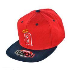 Los Angeles Angels of Anaheim MLB Back 2 Front Snapback Baseball Cap  available at #VillageHatShop