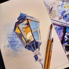 Watercolorist: @mti6 #waterblog #акварель #aquarelle #painting #drawing #art #artist #artwork #painting #illustration #watercolor #aquarela
