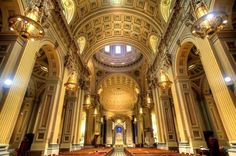 Cathedral basilica of Sts. Peter & Paul in Philadelphia, PA