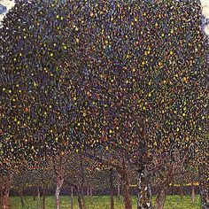 Pear tree, by Gustav Klimt: the nature is golden in the paintings of this master of colour