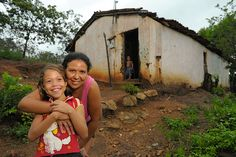 Photos show what life is like for Lelliane, a sponsored girl in an impoverished area of Brazil.