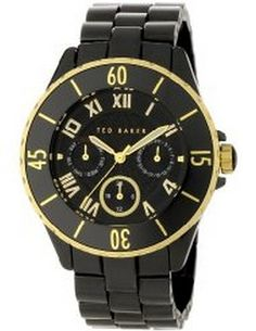 Ted Baker Female Quality Time Watch  TE4057 Black Analog       Sale price. $144.95