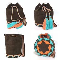 "2 Beğenme, 1 Yorum - Instagram'da @_h_eng__: ""#wayuu #wayuutribe #wayuustyle #wayuubags #wayuufashion BUY WeChat:-wawawawa-"" Crochet Clutch, Crochet Purses, Knit Crochet, Tapestry Bag, Tapestry Crochet, Sunday Dress, Fendi Bags, Clutch Purse, Crochet Patterns"