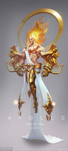 ArtStation - Apollo, Dongyu Mao