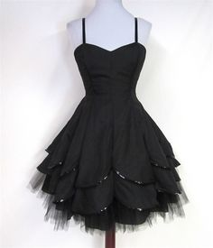 -Love that basic style! It's a Betsey Johnson Evening Dahlia goth style dress gothic fashion