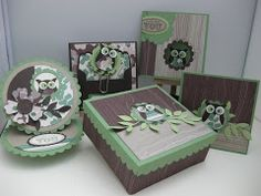 Stampin' Up! Woodland Owl Stamp Class Instructions