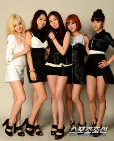 Name: Ladies' Code Debut: 2013 Members: Risae, Bitna, Eunbi, Sojung, Joomi