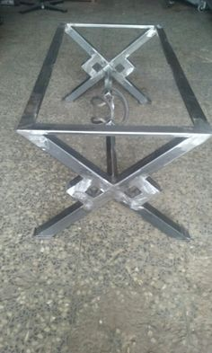Welded Furniture, Industrial Design Furniture, Iron Furniture, Diy Outdoor Furniture, Steel Furniture, Grill Gate Design, Steel Gate Design, Steel Dining Table, Dining Table Legs