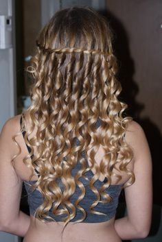 How I want my hair for eight grade graduation