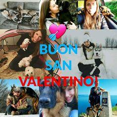 Buon San Valentino a tutti voi che ogni giorno condividere con noi di #BauSocial l'amore per i vostri quattro zampe!  Un augurio particolare a @clydetherapy @frencyfa @laurazanardello @alefranz_kim.gsd @juliagerich @sere_frange che ci seguono da sempre!  Grazie mille!  #SanValentino #love #amore #dog #cane #dogs #cani #milano #roma #italia #torino #bologna #puglia #doglovers #valentine #tbt #happy #friends #instadog #dogstagram #germanshepherd #collage #iphonesia #marketing #socialmedia