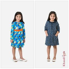 Elegant-Khaadi-Casual-Wear-Dress-Collection-For-Kids-2015-1
