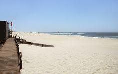 A beach in Aveiro, Portugal