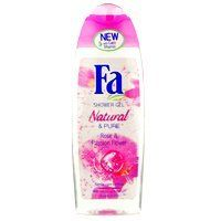 Fa Shower Gel - Natural & Pure - Rose & Passion Flower 250ml/8.4oz by Abercrombie & Fitch. $6.51. Discover the invigorating freshness of Fa Shower Gel, a unique combination of gentle cleansing, activating freshness and inspiring fragrance for an overall wellbeing.. Enjoy Fa Shower Gel, the fascinating European product specifically formulated for gentle cleansing in the shower.. Active ingredients for refreshed and smooth skin - Fas unique formulation actively maintains ...