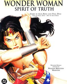 Alex Ross Wonder woman is just perfect Wonder woman spirit of truth --- #comicbook #comics #historieta #historietas #comic #comicbooks #issues #issue #releases #geek #hqs #dc #alexross #pauldini #wonderwoman #spiritoftruth