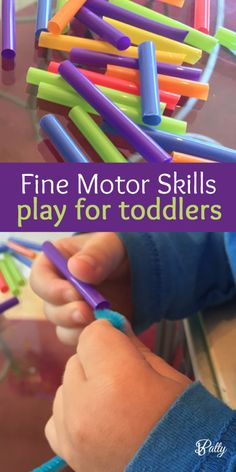 pipe cleaners activities for toddlers Cognitive Activities, Motor Skills Activities, Sensory Activities, Infant Activities, Fine Motor Skills, Preschool Activities, Sensory Toys, Montessori Toddler, Toddler Preschool