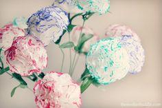 Tutorial : DIY Tissue Flowers