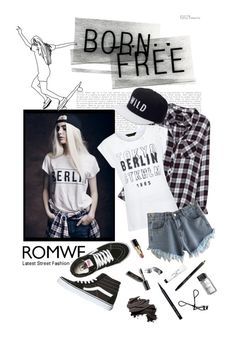 """""""Wild and free"""" by mountainrose ❤ liked on Polyvore featuring Rails, New Look, Kill Brand, Vans and Bobbi Brown Cosmetics"""