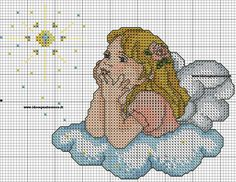 angeli punto croce - Buscar con Google
