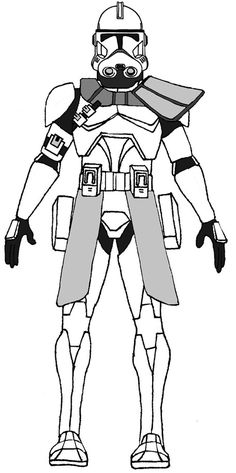 Clone Trooper 21st Nova Corps