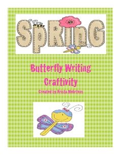s your class learning about butterflies? Are you looking for a spring writing activity? The Butterfly Writing Craftivity is a great project to use in your classroom.