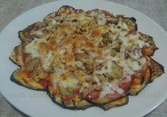 Pizza de berenjena o Berenjepizza (o Calabapizza)