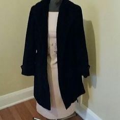 Mulberry street coat Black vintage Mulberry street coat Mulberry street Jackets & Coats Trench Coats
