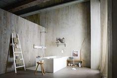 Vasca da bagno rettangolare / in Corian® - ERGO_NOMIC by Giulio Gianturco - Rexa Design