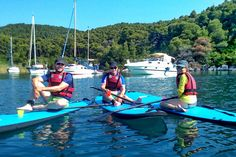 Stand up paddle boarding is a water activity for the whole family. It is a really good workout but a relaxing experience too! Standup Paddle Board, Water Activities, Paddle Boarding, Stand Up, Fun Workouts, Boat, Island, Dinghy, Get Up
