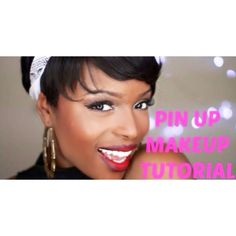 Check out my Pin Up Inspired makeup tutorial live on my channel now. :)