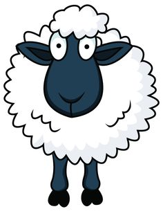 Sheep for sale at a livestock market, but it's not livestock market! we have 11 funny cartoon pictures for Eid ul-Adha Sheep to downl Painted Rock Animals, Painted Rocks, Clipart, Sheep Cartoon, Cartoon Clip, Sheep Drawing, Sheep Illustration, Sheep Crafts, Funny Cartoon Pictures