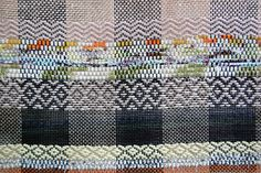 rag weave / 1 by Avalanche Looms, via Flickr