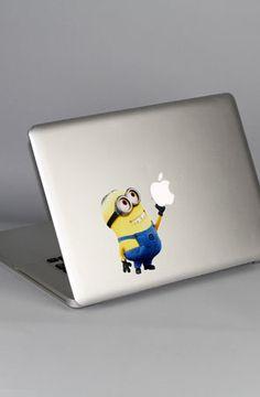 Macbook HD Decal - Minion by Yamamoto Industries