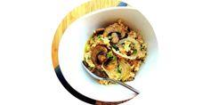 Три завтрака из овсяной каши для тех, кто не любит овсяную кашу - с грибами, авокадо и ростками сои