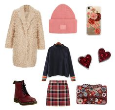 """""""Pink punk"""" by jarakuza on Polyvore featuring rag & bone, Dr. Martens, Chanel, Acne Studios and Casetify"""