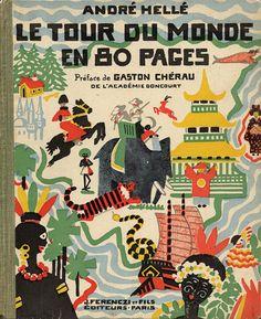 André Hellé, Le Tour du Monde en 80 Pages