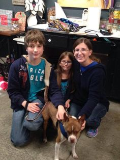 We are SO happy to announce that Ralphie , who has been with ARF since February has been adopted! Congrats to the happy family!