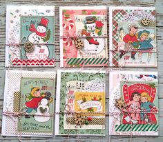 Mish Mash: Christmas cards in the making...