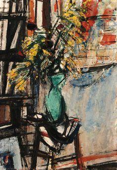 Vase of Flowers, Sigmund Menkes. Polish (1896 - 1986)