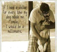 I'd be a millionaire :)